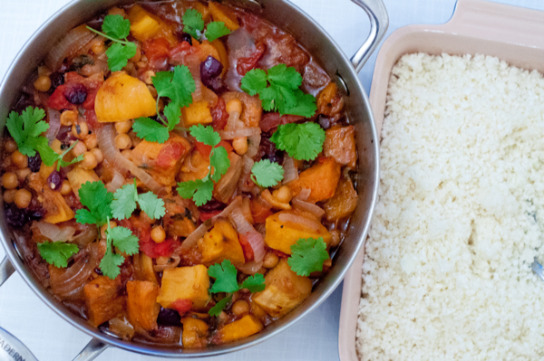 Sicilian squash and chickpea stew #savewithJamie on eatlivetravelwrite.com