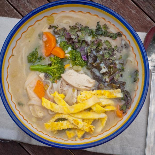 Jewish penicillin chicken soup #savewithJamie on eatlivetravelwrite.com