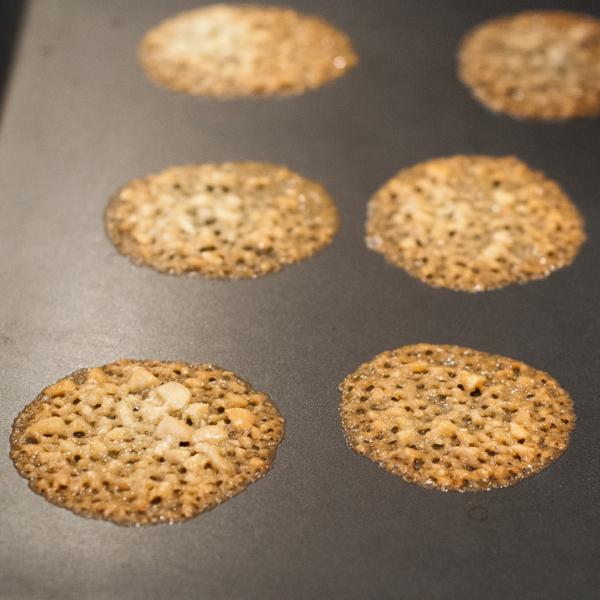 Tuiles on baking tray on eatlivetravelwrite.com