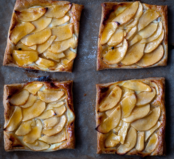 French apple tarts on eatlivetravelwrite.com