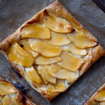 Ontario apples French apple tart on eatlivetravelwrite.com