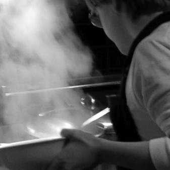 Kids in the kitchen cooking gnocchi on eatlivetravelwrite.com