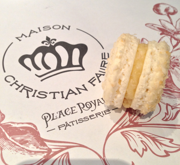 Macaron from Maison Christian Faure on eatlivetravelwrite.com