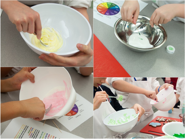 Mixing Royal Icing with Adell Shneer
