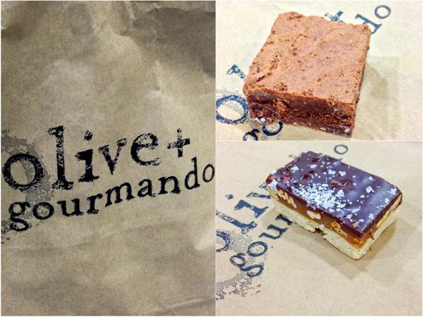 Olive and Gourmando brownie and turtle bar on eatlivetravelwrite.com
