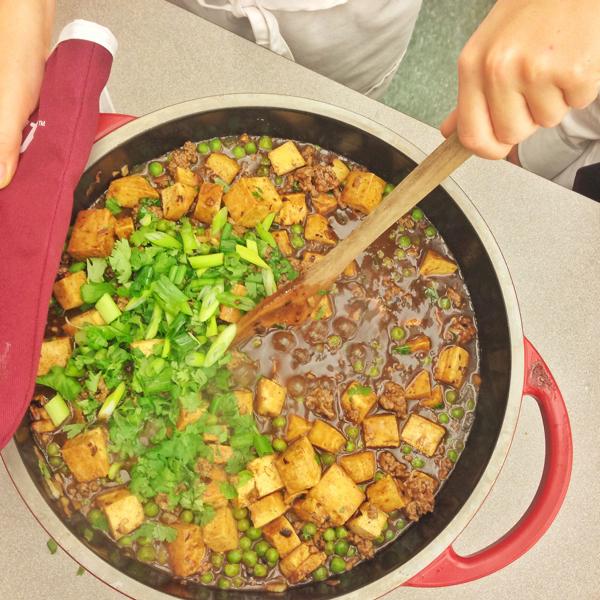 Making Chinese beef and tofu #savewithJamie on eatlivetravelwrite.com