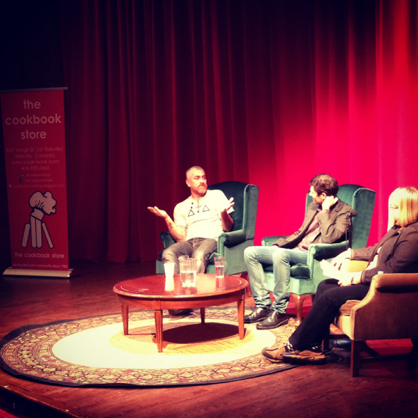 Alex Atala and Daniel Paterson speak in Toronto