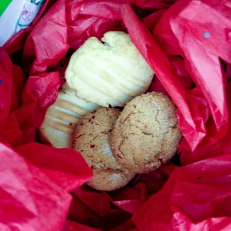 Baking holiday cookies with kids on eatlivetravelwrite.com