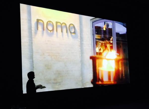 Rene Redzepi from Noma speaking in Toronto on eatlivetravelwrite.com