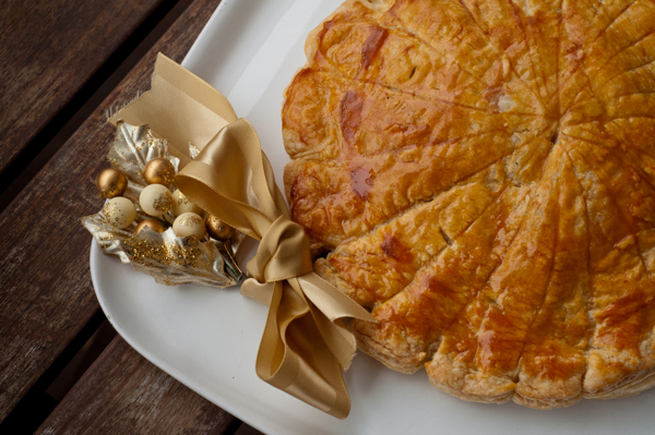 Galette des Rois for Epiphany on eatlivetravelwrite.com