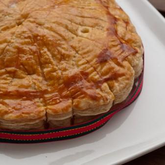 Galette des rois for January 6 on eatlivetravelwrite.com