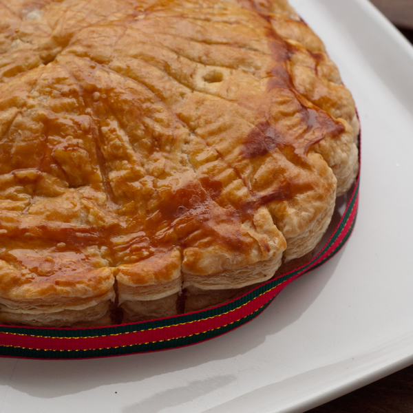 Galette des rois for January 6 on eatlivetravelwrite.com