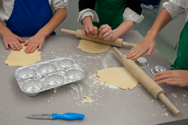 Kids making pastry on eatlivetravelwrite.com