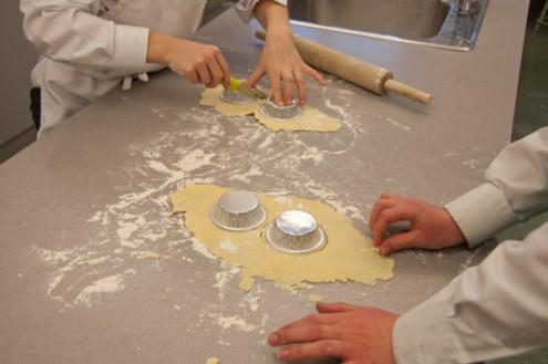 Kids making pastry cases on eatlivetravelwrite.com