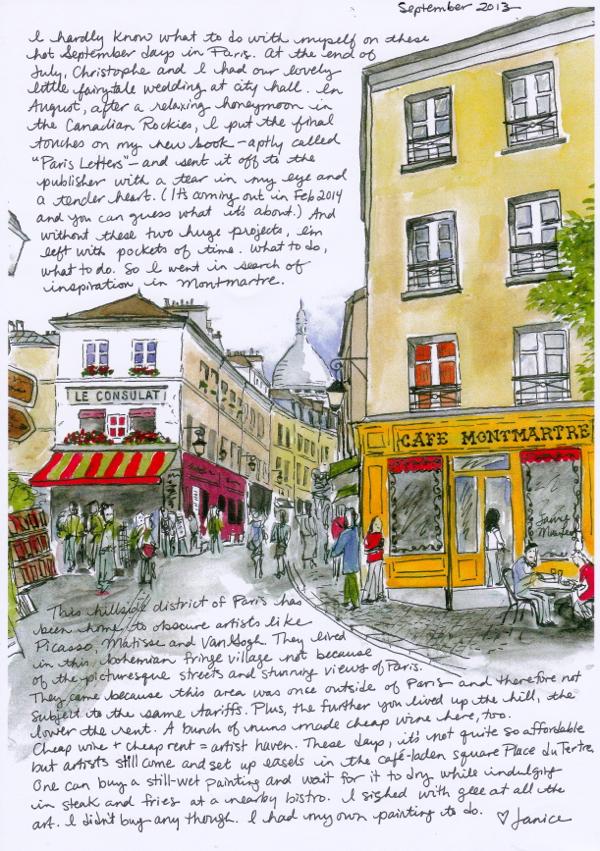 Paris Letter Sample on eatlivetravelwrite.com
