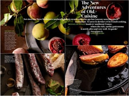 Screen grabs from Conde Nast Traveler on eatlivetravelwrite.com