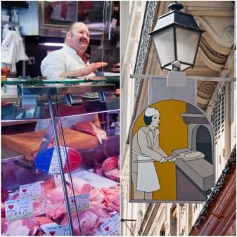 Butcher and baker in Paris on eatlivetravelwrite.com