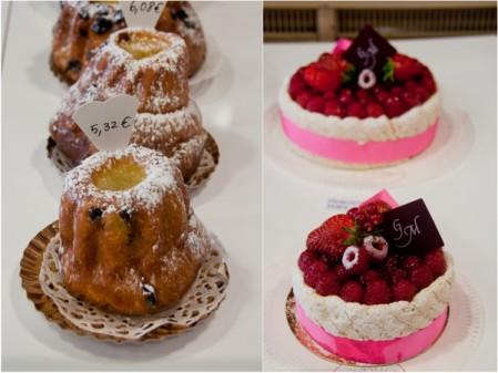Cakes at Gerard Mulot on eatlivetravelwrite.com