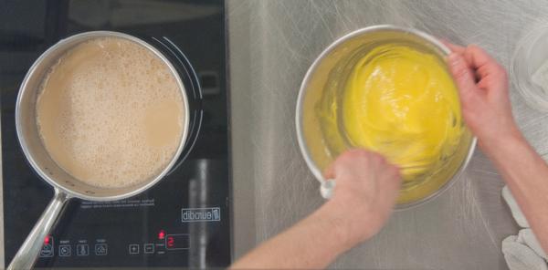 Making pastry cream on eatlivetravelwrite.com