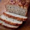 Sliced banana bran bread on eatlivetravelwrite.com