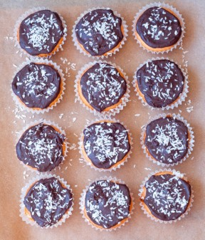 Chocolate orange cupcakes for National Cupcake Day on eatlivetravelwrite.com
