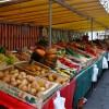 A Paris market stall on eatlivetravelwrite.com