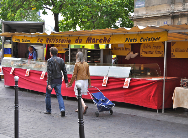 Strolling the Paris markets on eatlivetravelwrite.com