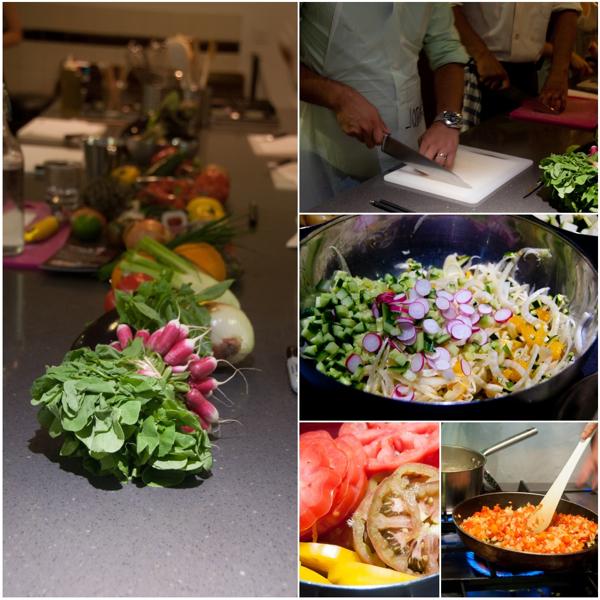 Fresh produce at La Cuisine Paris Marche Baudoyer class on eatlivetravelwrite.com