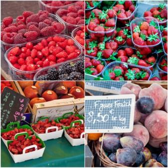 Fruit at Paris markets