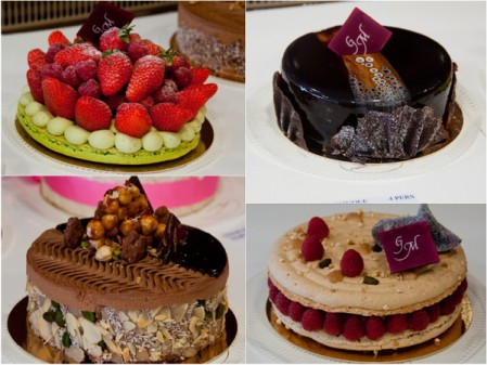 Gerard Mulot cakes on eatlivetravelwrite.com