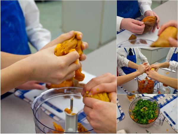 Making Jamie Oliver hummus on eatlivetravelwrite.com