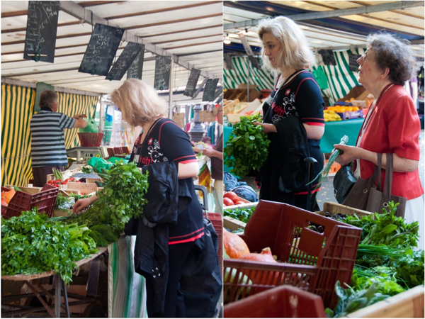 Shopping at Paris markets on eatlivetravelwrite.com