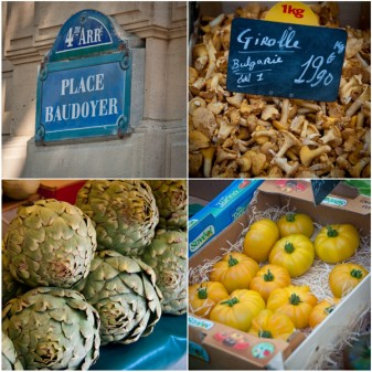 Vegetables at Marche Baudoyer Paris on eatlivetravelwrite.com