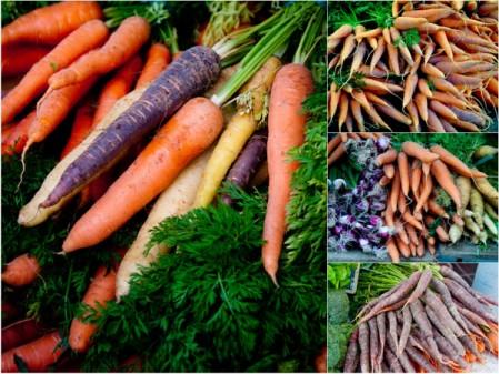 carrots at Paris markets on eatlivetravelwrite.com