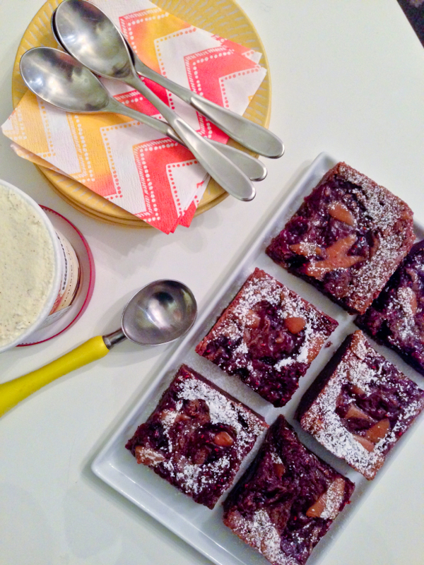 Ottolenghi toffee brownies on eatlivetravelwrite.com