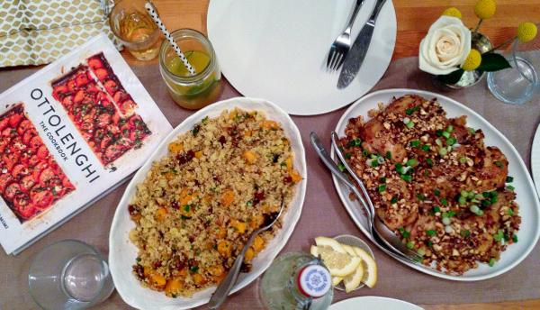 Cookbook Book Club #dinnerwith Ottolenghi on eatlivetravelwrite.com
