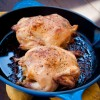 Sausage stuffed Cornish hens for French Fridays wth Dorie on eatlivetravelwrite.com