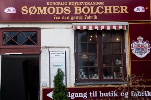 Somods Bolcher candy store in Copenhagen