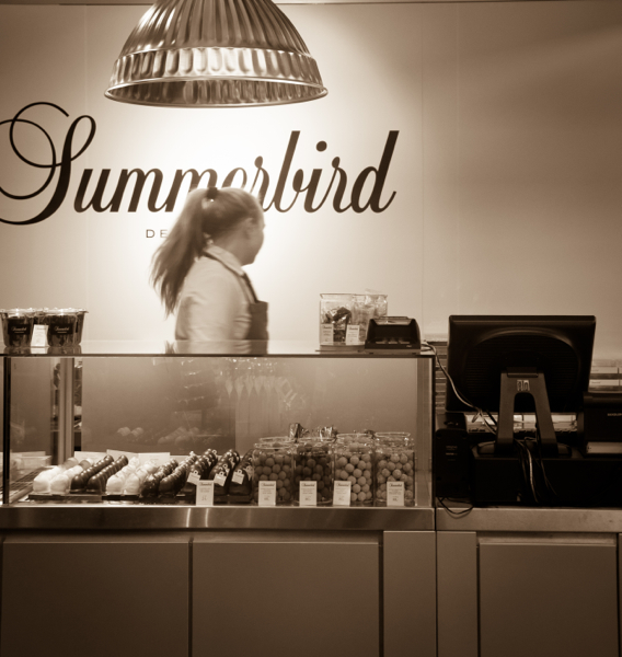 Summerbird chocolates in Copenhagen