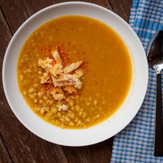 Dorie Greenspans vegetable Barley Soup with a taste of little India on eatlivetravelwrite.com
