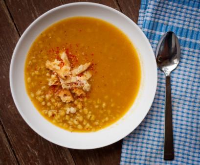 Vegetable Barley Soup with a taste of little India on eatlivetravelwrite.com