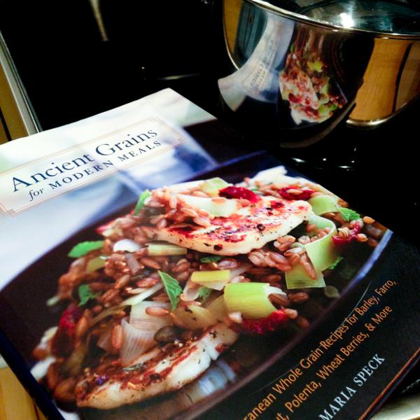 Ancient Grains for Modern Meals by maria Speck on eatlivetravelwrite.com
