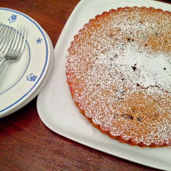 Maria Speck lemon scented olive oil cake and plumped figs on eatlivetravelwrite.com