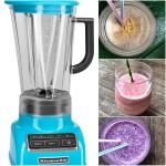 KitchenAid Diamond Blender and smoothies