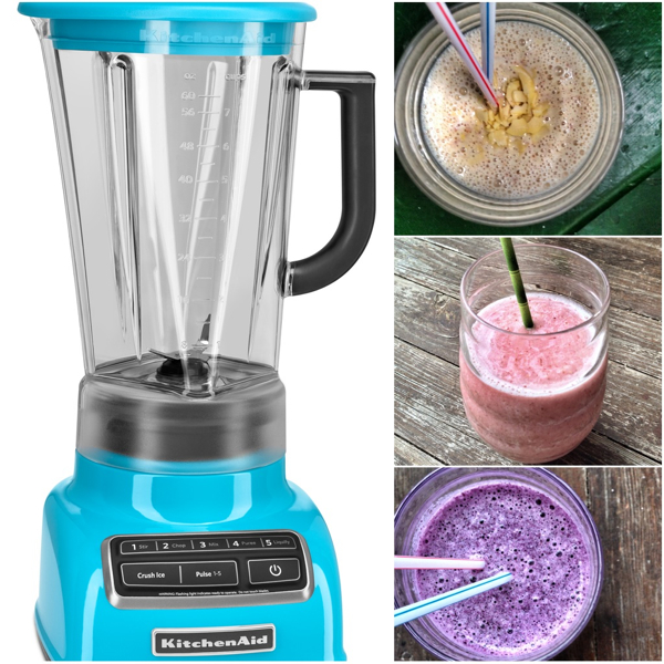 KitchenAid Diamond Blender and smoothies