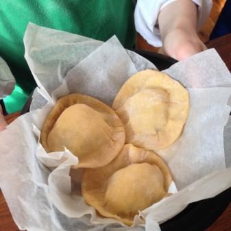 Kids homemade ravioli on eatlivetravelwrite.com