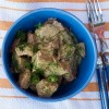 Green as spring veal stew from Around my French Table on eatlivetravelwrite.com