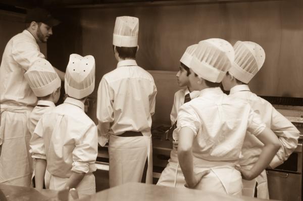 Kids cooking with Chef Dave Arseneau on eatlivetravelwrite.com