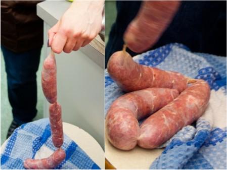Kids making sausages from scratch on eatlivetravelwrite.com