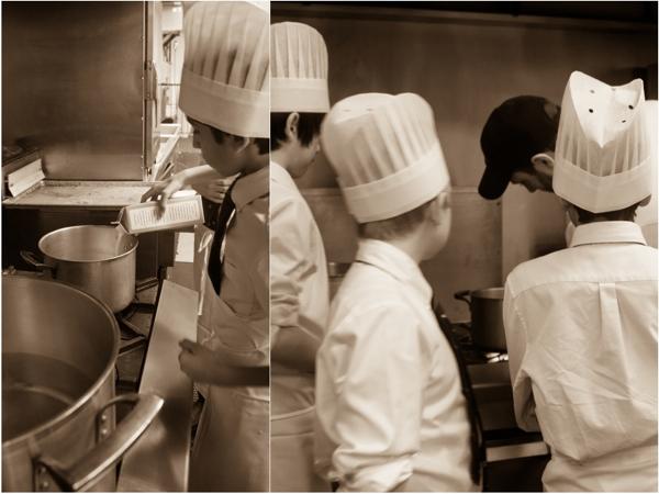 Kids working with Chef Dave Arseneau at Renaissance Toronto hotel on eatlivetravelwrite.com
